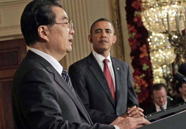 Obama and Hu on Human Rights in China